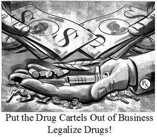Put the cartels out of business legalise drugs