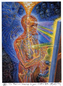 Alex Grey Artwork Psychedelics and creativity